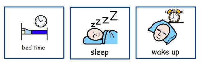 Sleep timetables
